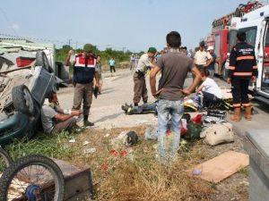 Çanakkale'de Askeri Araç Kaza Yaptı: 1 Ölü, 4 Yaralı