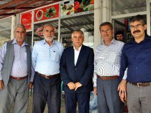 AK Parti Milletvekillerinden Şampiyon İlçeye Ziyaret