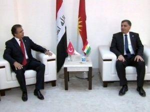 Azizoğlu, Kürdistan Bölge Yüksek Öğretim Bakanı Yusuf Goran İle Görüştü