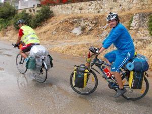 Guiness Rekorlar Kitabı Adayı Bisikletçi Efes Ve Kuşadası'nda
