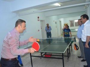 Kaymakam Güven'den Rehabilitasyon Merkezine Ziyaret