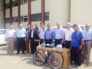 Gömeç'te Okullarda Bisiklet Kullanımı Teşvik Ediliyor