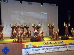 1. Uluslar Arası Adıyaman Arsemia Müzik Festivali Gerçekleştirildi