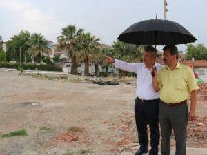 Başkan Yaralı'dan Yağmur Altında İnceleme