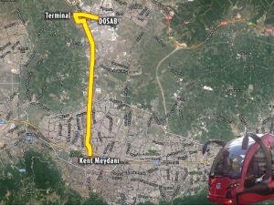 Bursa'da Şehir İçi Yerli Tramvay Terminale Uzuyor