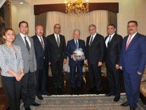 İTO'dan KKTC Cumhurbaşkanı'na Ziyaret