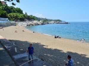 Kapuz Plajı Yeni Sezona Hazırlanıyor