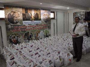 Amasya'da 2 Bin Aileye Ramazan Paketi Dağıtılacak