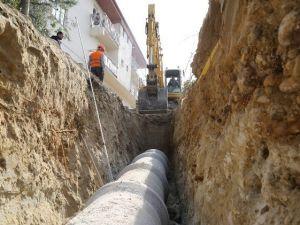 İki Mahalledeki Atık Su Sorunu Çözüldü