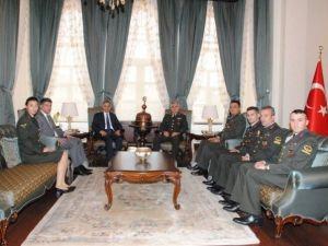 Jandarma Teşkilatı, Vali Tapsız'ı Ziyaret Etti