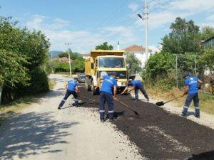 Muğla'da Yol Bakım Çalışmaları Sürüyor