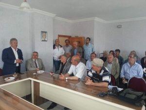 CHP Milletvekili Haluk Pekşen Teşekkür Ziyaretlerine Devam Ediyor