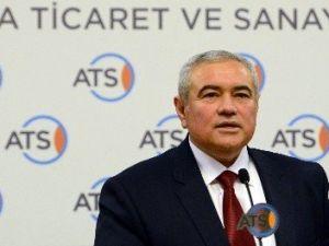 ATSO Başkanı Çetin'den Büyüme Rakamlarına İlişkin Değerlendirme