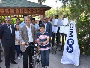 Çevreci Çocuklara Bisiklet