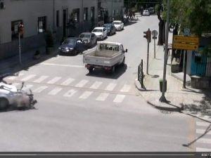 Eskişehir'de Mobesa Kameralara Yansıyan Trafik Kazaları