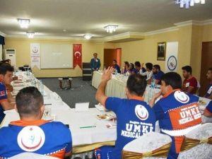 4 İlin Katıldığı UMKE Eğitim Toplantısı Afyonkarahisar'da Başladı