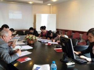 Tacikistan Devlet İstatistik Ajansı Uzmanlarına Eğitim