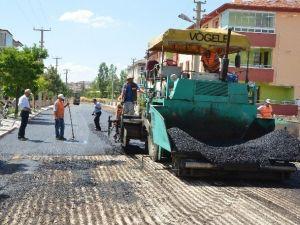 Ereğli'nin ETİ Mahallesine Sıcak Asfalt Dökülüyor
