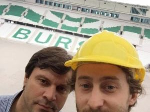 Sağlam'dan Timsah Arena Selfiesi
