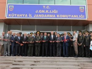 Kütahya İl Jandarma Komutanlığı'na Yeni Hizmet Binası