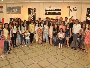 Başkan Alıcık, Atatürk Ortaokulu'nun Sergi Açılışına Katıldı