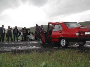 Çıldır'da Trafik Kazası: 6 Yaralı