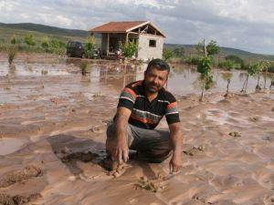 Yozgat'ta Dolu Ekili Alanlara Zarar Verdi