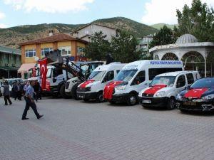 Koyulhisar Belediyesi Araç Filosunu Güçlendirdi