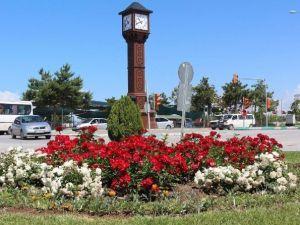 Beyşehir'de Çiçeklendirme Çalışmaları