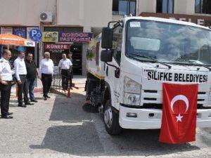 Silifke Belediyesi Temizlik İşleri Filosuna Yeni Araç