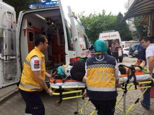 Dut Ağacından Düşen Kadın Yaralandı