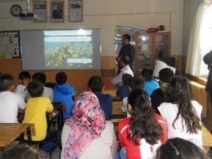 Pursaklar'da Öğrencilere Çevre Bilinci Aşılanıyor