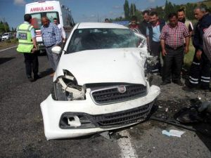Nevşehir'de Trafik Kazası: 2 Yaralı