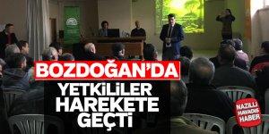 Bozdoğan'da yetkililer harekete geçti