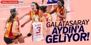 Galatasaray Aydın'a geliyor