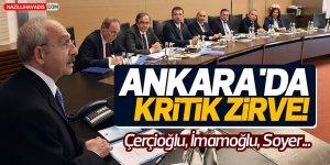 Ankara'da Kritik Zirve!