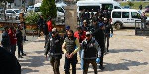 Aydın merkezli organize suç örgütü operasyonunda 10 şüpheli tutuklandı