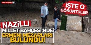 Nazilli'de Ermeni mezarları bulundu