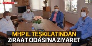 MHP AYDIN İL TEŞKİLATI'NDAN NAZİLLİ ZİRAAT ODASI'NA ZİYARET