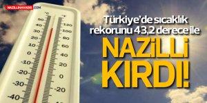 REKOR NAZİLLİ'DE!