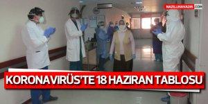 Türkiye'de son 24 saatte Kovid-19 tedavisi tamamlananların sayısı 156 bini geçti