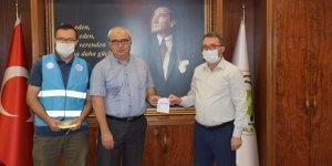 Nazilli Kaymakamı Sedat Sırrı ARISOY' dan TDV'ye kurban bağışı