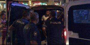 AYDIN'DA ALKOLLÜ SÜRÜCÜ POLİSE ÇARPTI