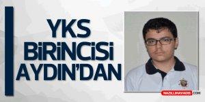 YKS Türkiye Birincisi Aydın'dan