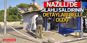 Nazilli'de silahlı saldırı korkuttu