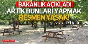 İçişleri Bakanlığından 'Ormanlık Alanlar ve Civarında Ateş Yakılmaması' konulu genelge