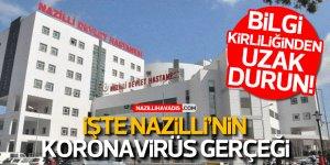 İşte Nazilli'nin koronavirüs gerçeği... Bu habere dikkat!