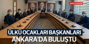 Ülkü Ocakları Başkanları Ankara'da Buluştu