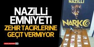 Nazilli'de zehir tacirlerine ağır darbe!