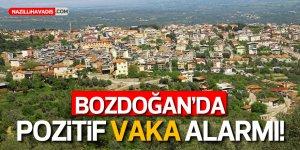 Bozdoğan'da iki mahalle karantinaya alındı!